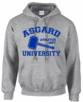 ASGARD UNIVERSITY HOODIE - INSPIRED BY THOR LOKI AVENGERS